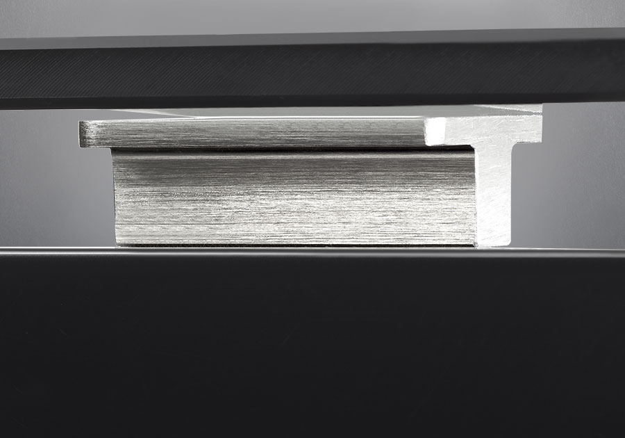 Brushed Aluminum Rectangular Accent Posts