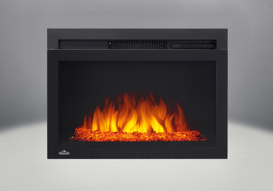 Comes with the Cinema<sup>™</sup> Glass 24 Electric Fireplace