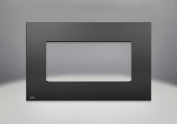 Painted Black Rectangular Surround