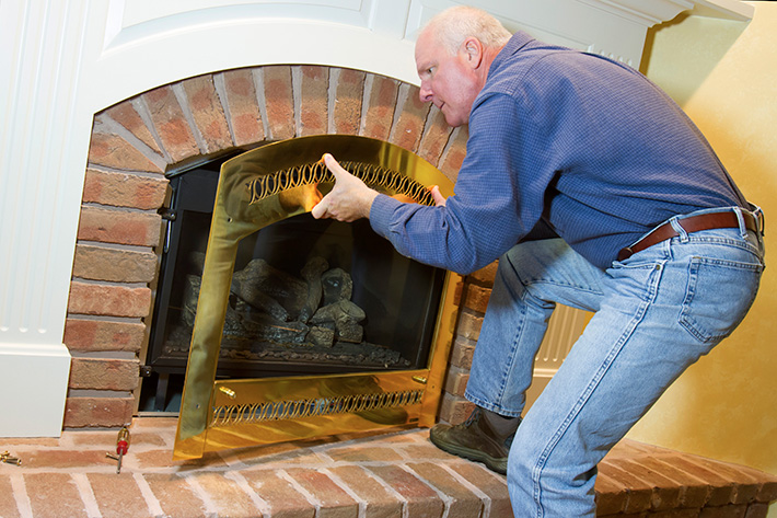 How To Clean The Glass On Your Direct Vent Gas Fireplace Napoleon