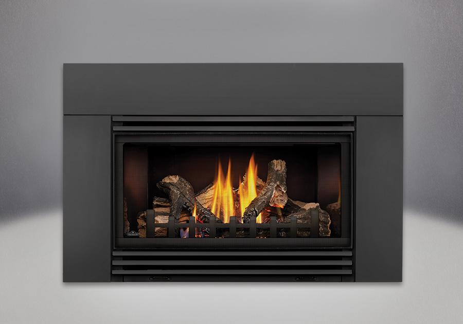 roxbury gdi30 logs black louvers 6 deluxe flashing prrp