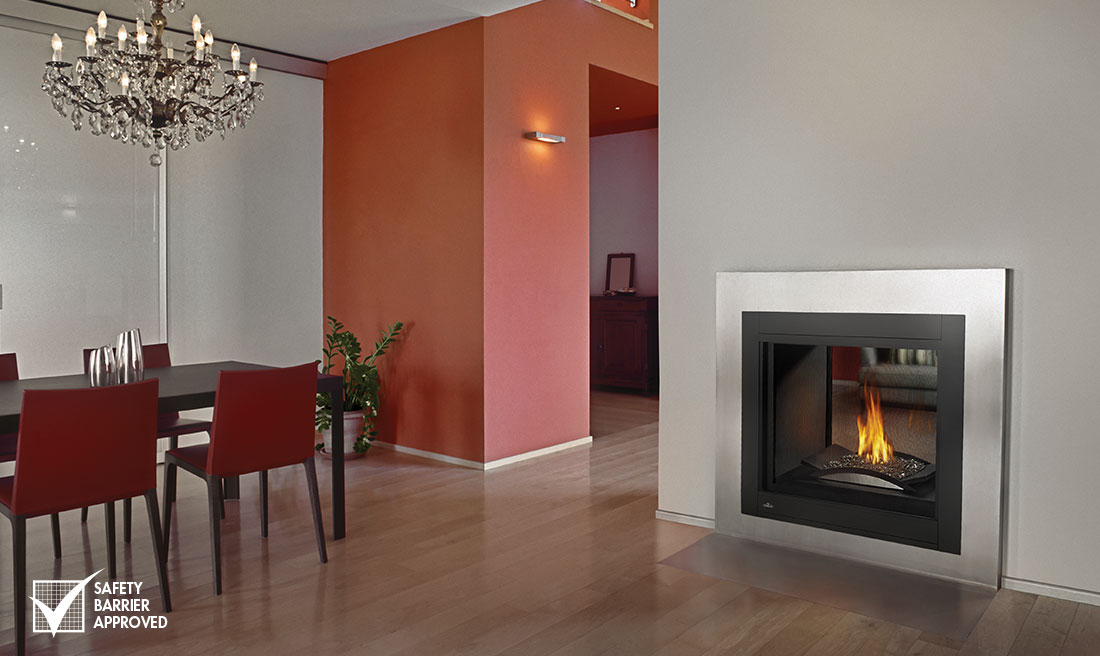 insert thru double examples through nz fireplace sided fireplaces electric inserts see modern