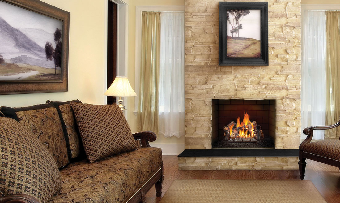 18 vented napoleon fireplaces