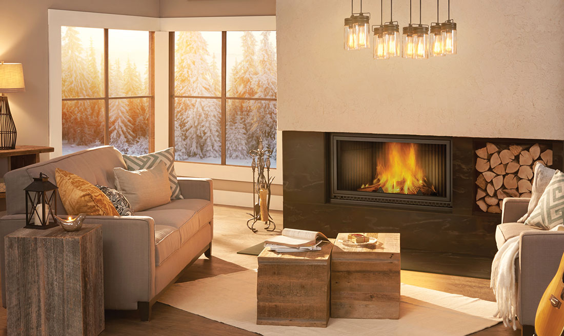 Wood Fireplaces by Napoleon