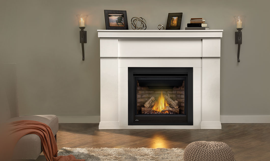 Imperial Gas Mantel Fireplace By Napoleon