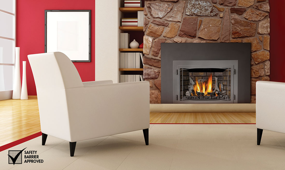 room contemporary insert gas a for warm living fireplace