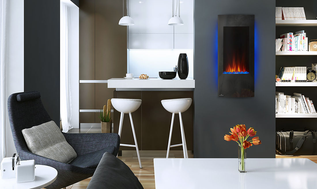 Napoleon Azure Vertical 38 electric fireplace NEFV38H