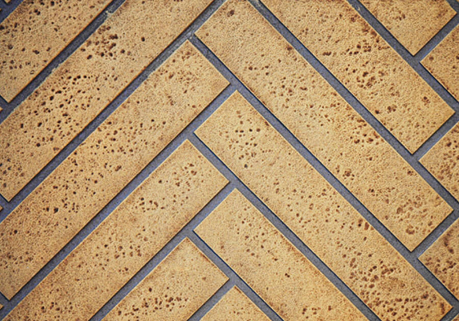 Sandstone Herringbone Decorative Brick Panels