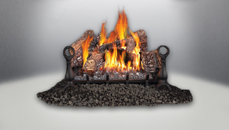 vent free gas log napoleon fireplaces