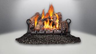 vent free gas log napoleon fireplaces