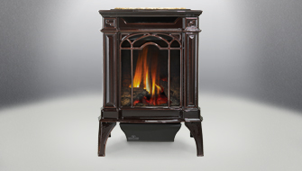 With a Napoleon Direct Vent Gas Stove