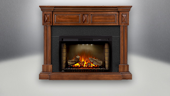 Napoleon's electric fireplaces install in minutes