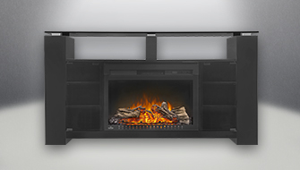 Napoleon Foley Electric Mantel Package