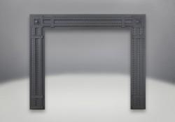 Decorative Rectangular Surround - Wrought Iron