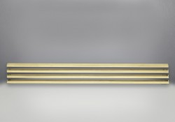 Louvers - Antique Brass Finish