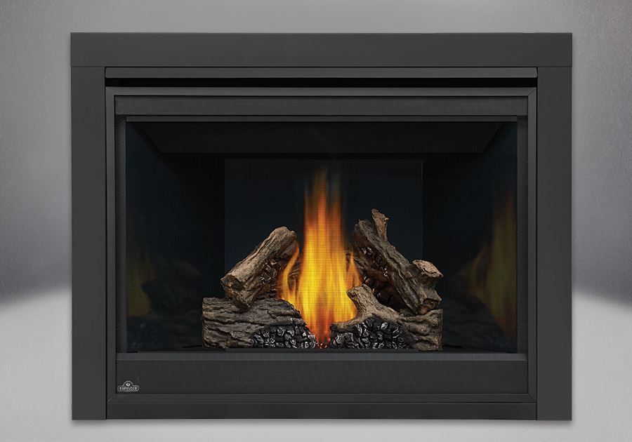 PHAZER<sup>&reg;</sup> Log Set, MIRRO-FLAME<sup>&trade;</sup> Porcelain Reflective Radiant Panels, 2 inch Trim Kit