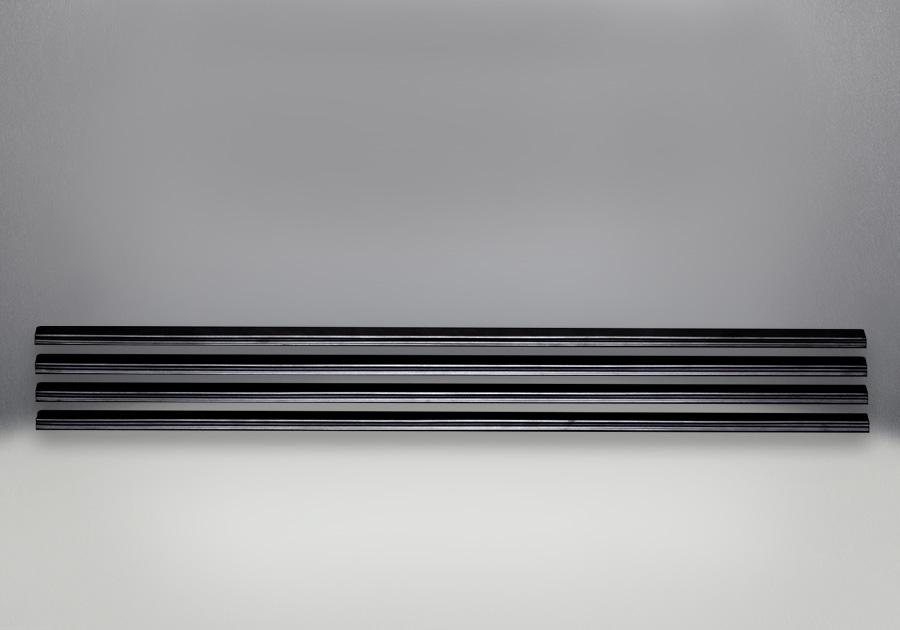 Louvres - Black Finish