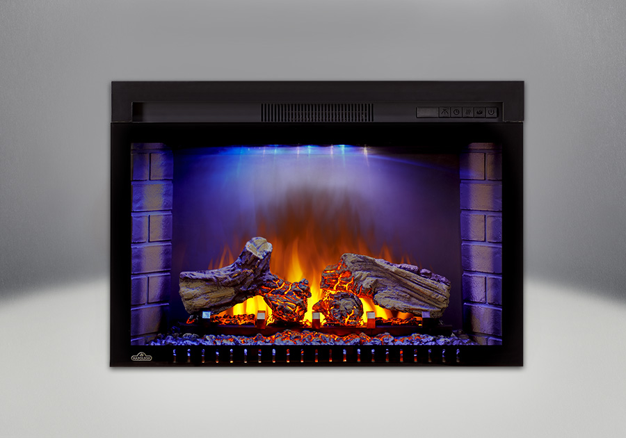 Comes with the Cinema<sup>&trade;</sup> 29 Electric Fireplace