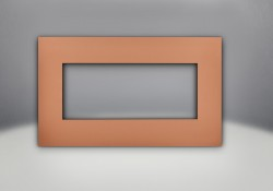 Brushed Copper Faceplate