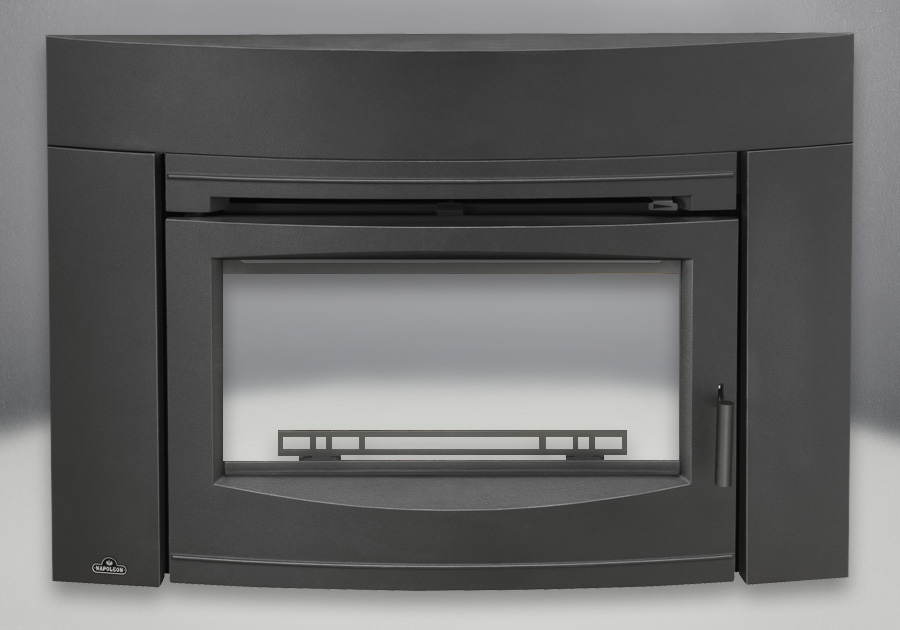 Contemporary Front Painted Black Finish (EPI3C)