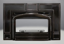 Traditional Front Porcelain Enamel Majolica Brown Finish (EPI3T)