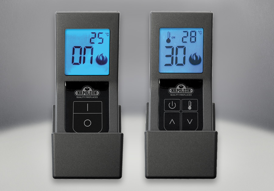 F45 & F60 Remote Controls, On/Off with Digital Screen (Optional)