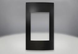 Contemporary Facing Kit Painted Black Finish