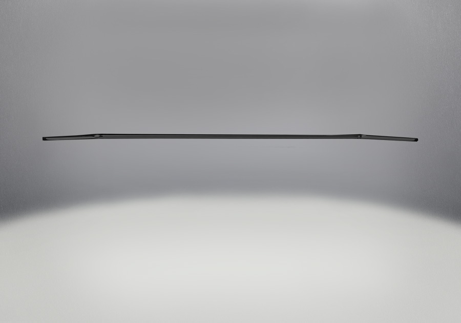 Accent Bar Painted Metallic Black Finish (Standard)