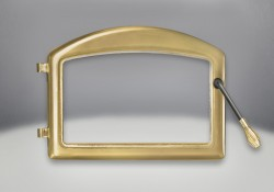 Arched Door 24 Karat Gold Plated Finish