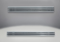 Upper & Lower Louvers Brushed Stainless Steel (Standard with Unit)
