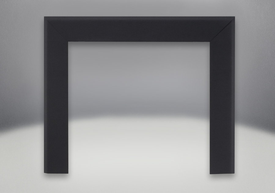 Bevelled Trim Kits -Textured Painted Black Finish, Available in 6