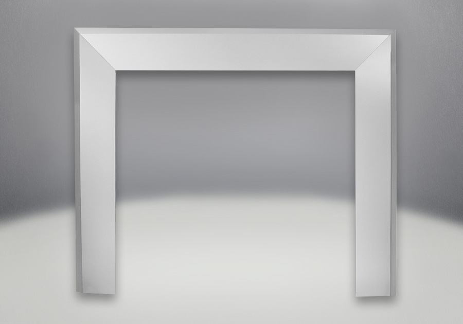 Bevelled Trim Kits - Brushed Stainless Steel Finish