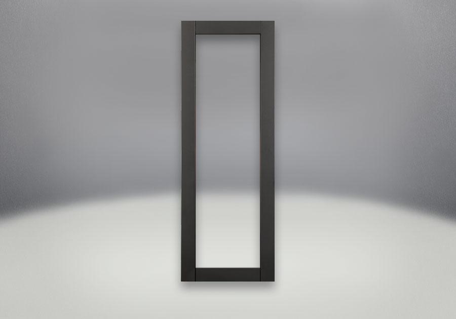 Painted Metallic Black Front