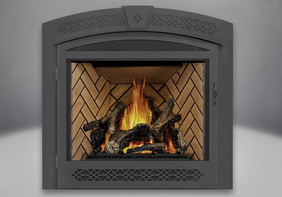 PHAZER<sup>®</sup> Logs, Herringbone Brick Panels, Faceplate