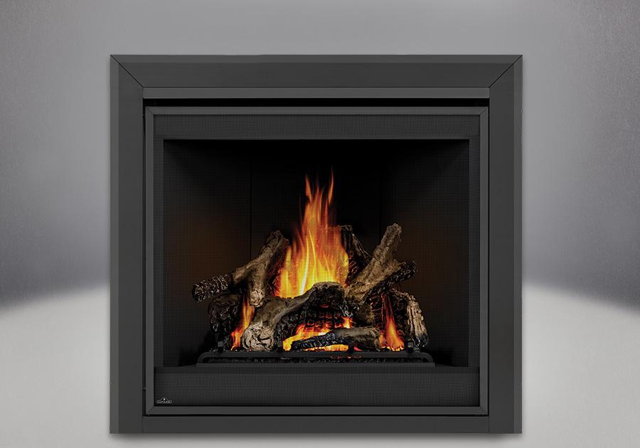 place burning log gas fireplace logs vs wood