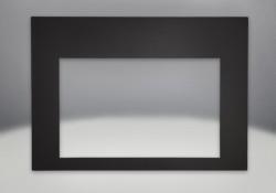 Contemporary Rectangular Front Porcelain Black Painted Finish