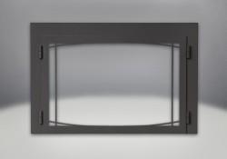 Zen Modern Door Painted Black Finish