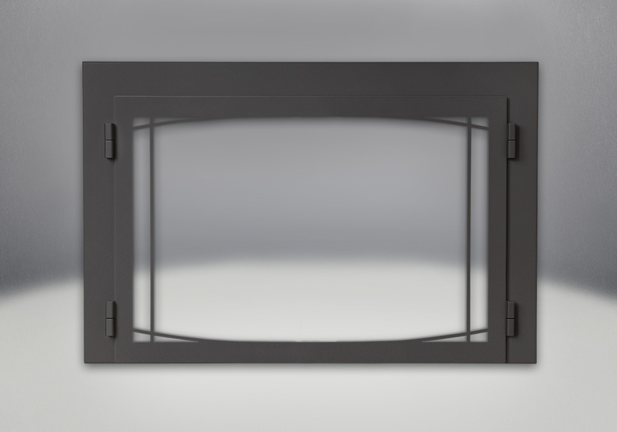 Zen Modern Door Painted Black Finish