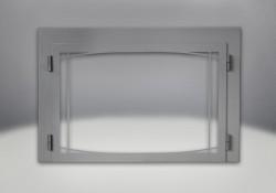 Zen Modern Door Wrought Iron Finish