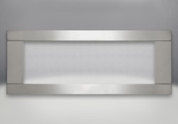 Premium Four-Sided Surround Brushed Stainless Steel With Safety Barrier