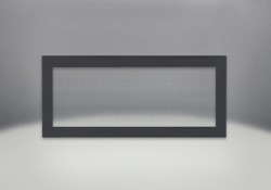 Flush Frame with Safety Screen, Powder Coat Black