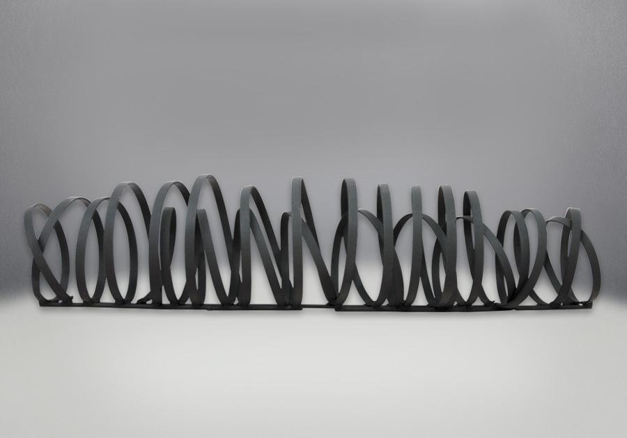 Designer Fire Art Metal Coil Design