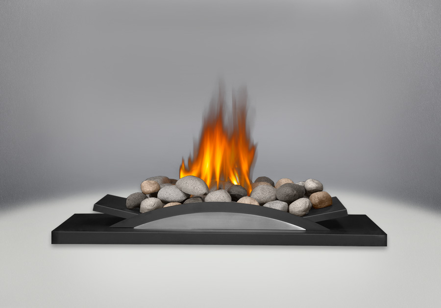 Multi-Colored River Rocks for Fire Cradle