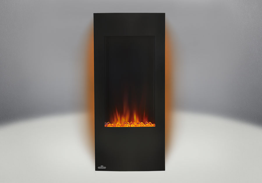 nefv38 back lit orange napoleon fireplaces
