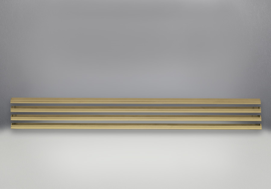 Louvres - Antique Brass Finish