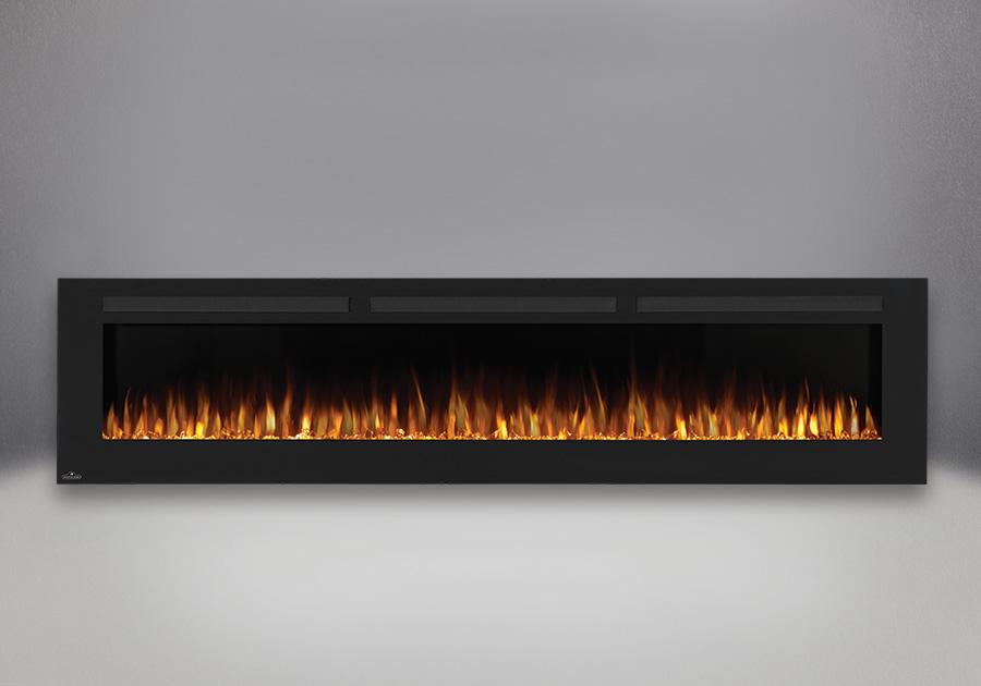 Flames set on orange