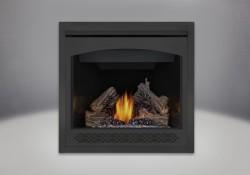 PHAZER<sup>&reg;</sup> Log Set, Heritage Front, MIRRO-FLAME<sup>&trade;</sup> Porcelain Reflective Radiant Panels