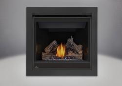 PHAZER<sup>&reg;</sup> Log Set, 2 inch Trim Kit - 3 Piece, MIRRO-FLAME<sup>&trade;</sup> Porcelain Reflective Radiant Panels