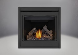 PHAZER<sup>&reg;</sup> Log Set, Zen Front, MIRRO-FLAME<sup>&trade;</sup> Porcelain Reflective Radiant Panels
