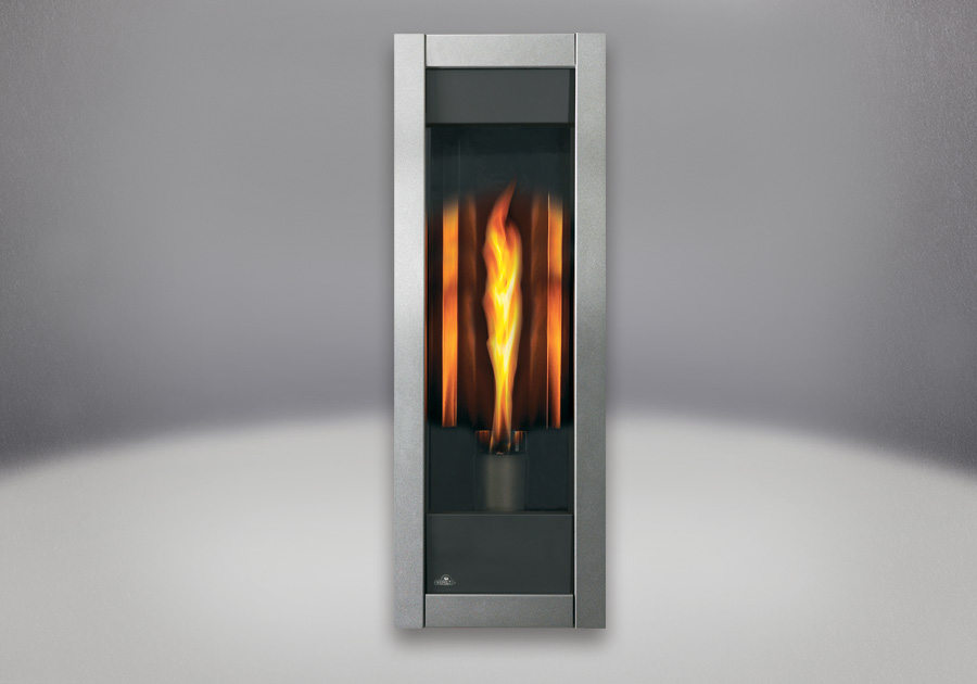 MIRRO-FLAME<sup>&trade;</sup> Porcelain Reflective Radiant Panels, Diamond Dust Front